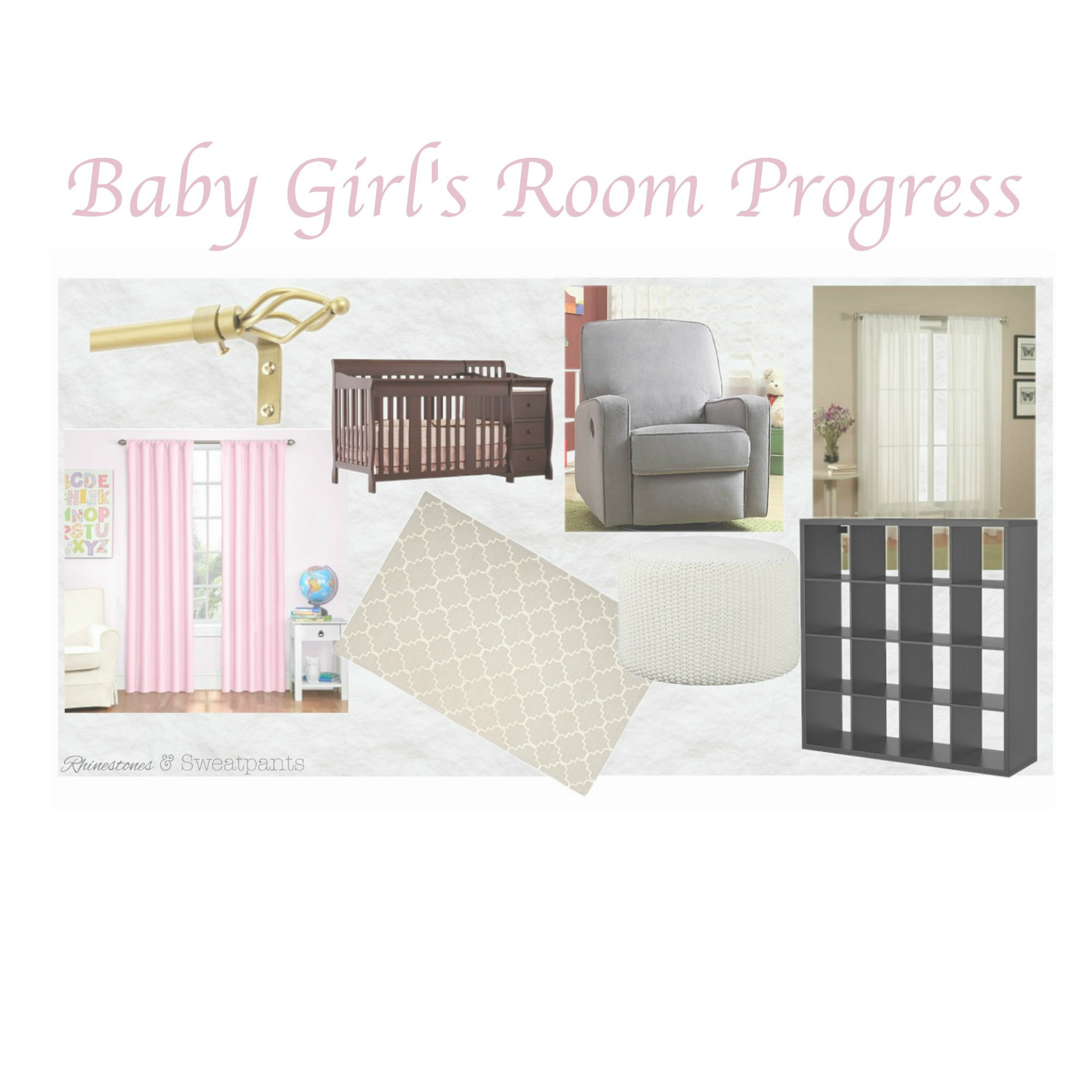 Baby Girl's Room Progress