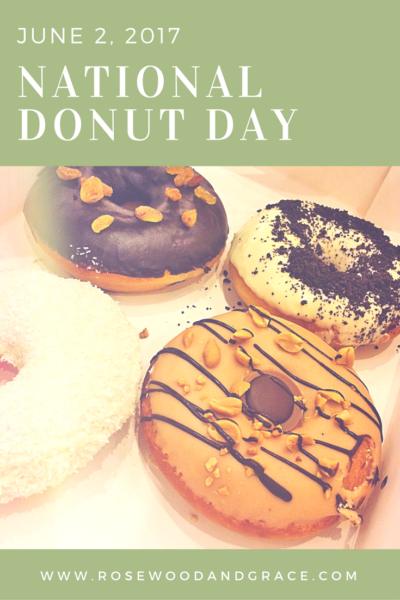 National Donut Day - Celebrate with a FREE Donut!