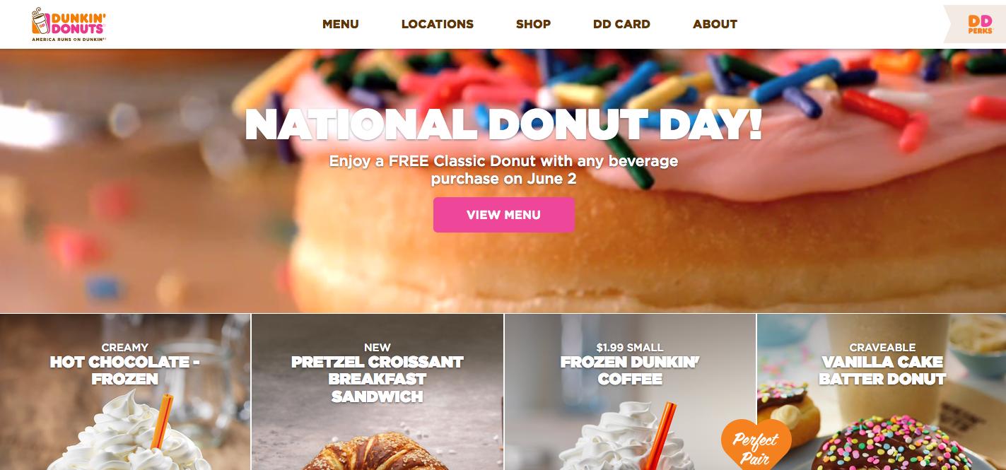 Dunkin Donut Free Donut on June 2!