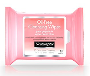 Neutrogena Oil-Free Cleansing Wipes | 5 Summer Beaty Essentials | Rosewood and Grace