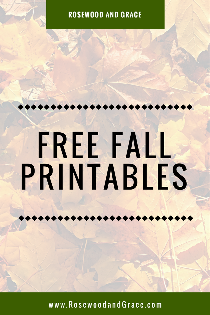Fall is upon us and there is a crispness in the air. To celebrate, I've created three free fall printables for you to print and add to your fall decor!