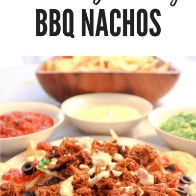 Ultimate Game Day BBQ Nachos
