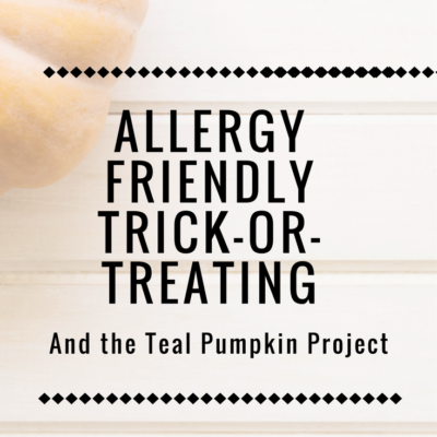 Allergy Friendly Trick-or-Treating