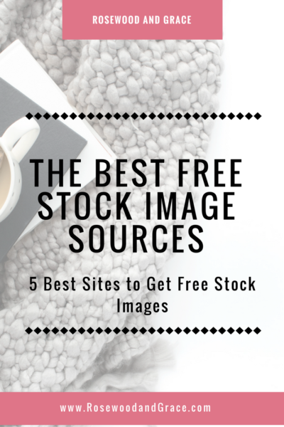 There are so many great sources for free stock images these days, but I want to share with you my 5 favorite places to get free stock images.