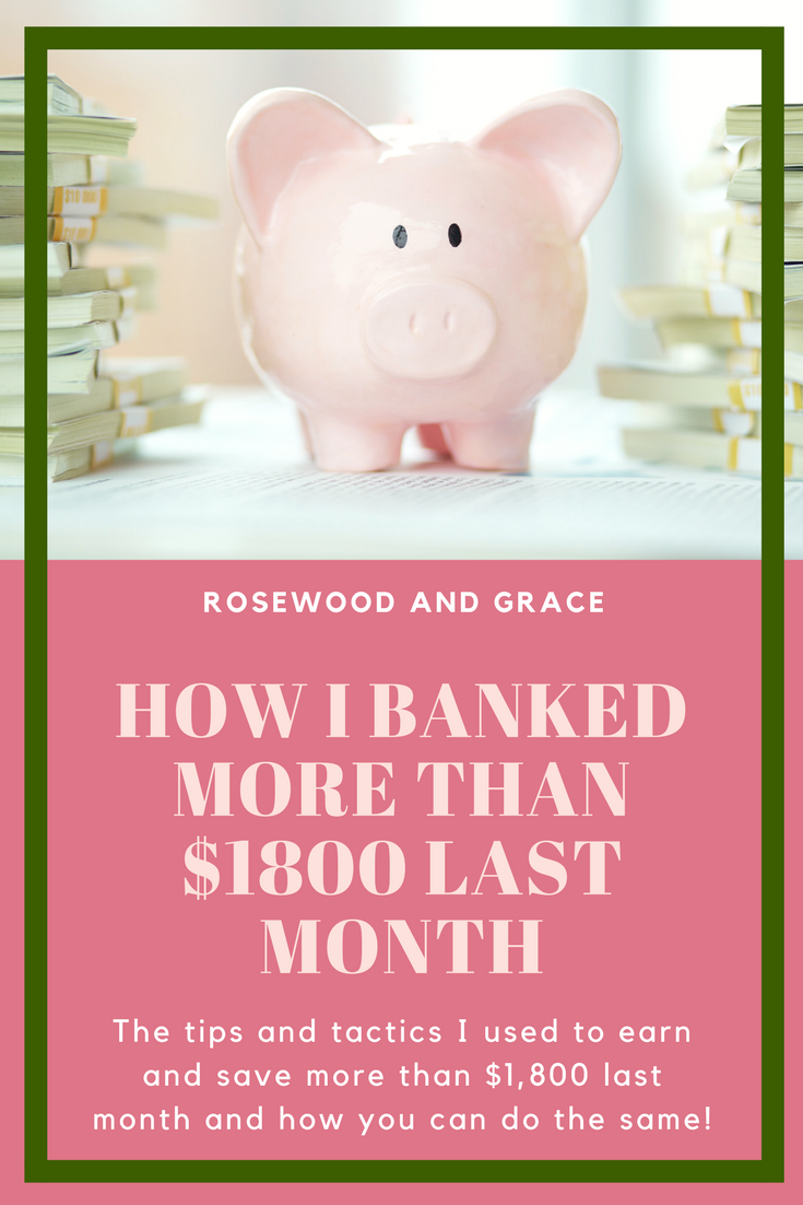 This isn't your typical blogger income report. Instead, this is my way of showing you how you can make money and save money whether you have a blog or not.