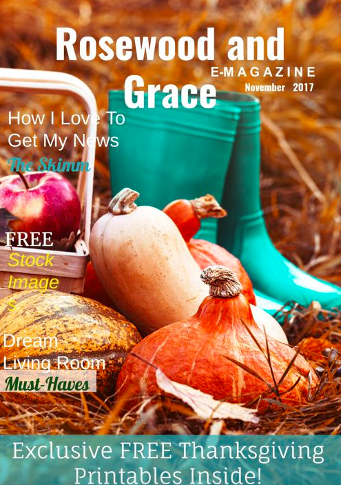 Introducing the Rosewood and Grace Monthly E-Magazine! Subscribe now to never miss an issue!