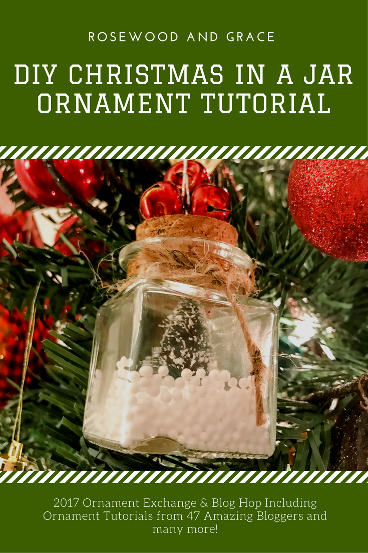 Welcome to the 2017 Ornament Exchange & Blog Hop! This year, there are 47 amazing bloggers participating in the exchange featuring their DIY ornaments! Come check out all the ornaments and be sure to add a link back to your own DIY Christmas ornament!