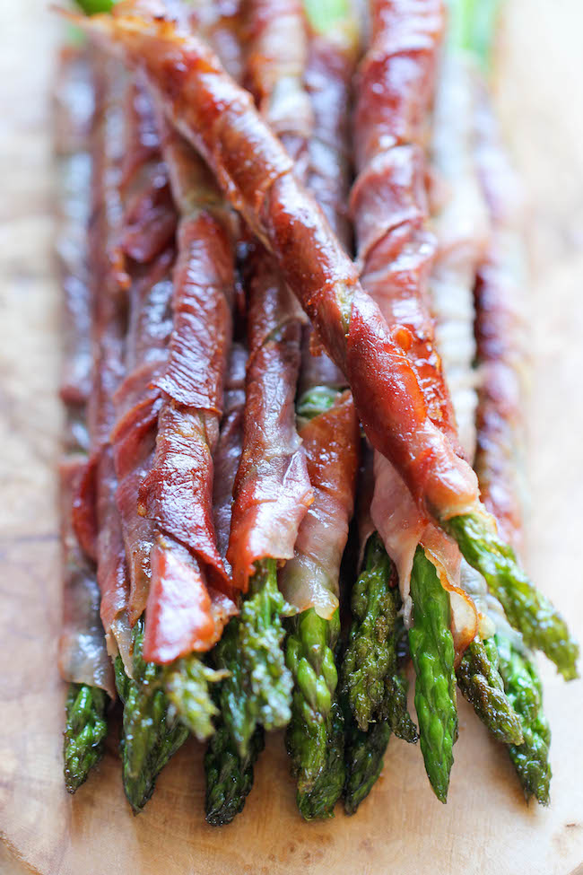 Prosciutto Wrapped Asparagus by Damn Delicious
