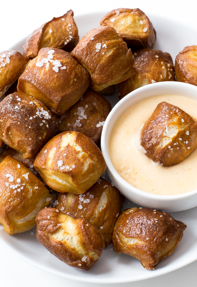 Homemade Pretzel Bites by Chef Savvy
